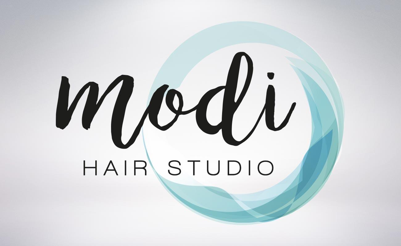 logo modi hair studio roma